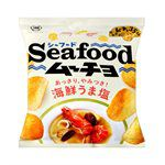 日本零食館 - KOIKEYA 湖池屋洋芋片 鹽味海鮮-保存至2020/12-55g