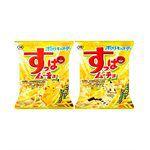 日本零食館 - KOIKEYA 湖池屋脆薯條 檸檬風味(包裝隨機出貨)-90g