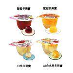 盛香珍 - 多果實大果凍- 葡萄多果實-180g*6