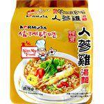 湯 / 乾拌麵 - KORMOSA 人蔘雞湯麵-4入