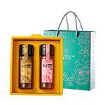 FRUITWHISPER 講果語 - 蜂蜜禮盒組(2罐入)-濃郁龍眼蜜+黃金荔枝蜜-440X2