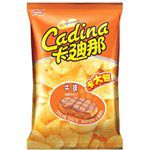 買貨推薦零食 - 卡迪那洋芋片(牛排)NP12-82g
