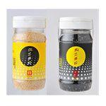 源順食品 - 黑白芝麻粒-炒熟-白芝麻X1 黑芝麻X1-170g/罐