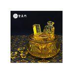 聖真門嚴選 - 黃金琉璃聚寶盆