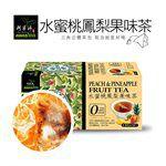 買貨推薦零食 - 阿華師 水蜜桃鳳梨果味茶-18包