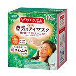 Kao - 溫熱感蒸氣浴舒適眼罩-森林浴-12片