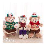 norns - 日本海洋迪士尼限定 2015聖誕節Duffy站姿吊飾毛衣站姿畫家貓-1 piece